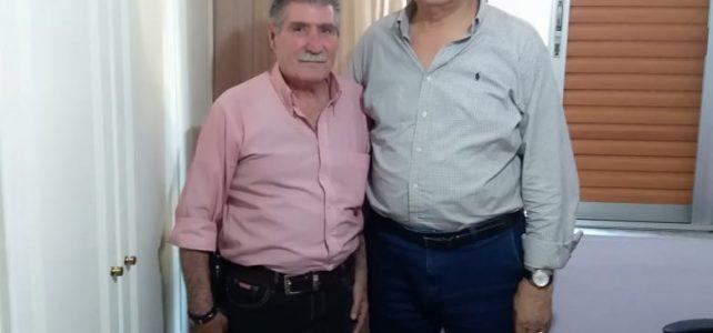 Συνάντηση του Προέδρου κ. Χαιδου Θεόδωρου με τον Βουλευτή κ. Χαράλαμπο Αθανασίου