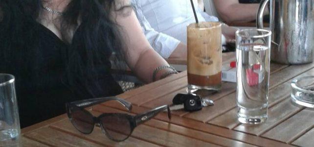 Συνάντηση σε καφετέρια με τα μέλη του Συλλόγου